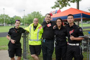 MFR Volunteers at Run for SJA Canada Day 2016